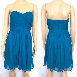 J. Crew Arabelle Dress in Silk Chiffon